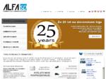Alfa SP d. o. o. - Špedicija, logistika, letalski, ladijski, cestni transport, transport, car