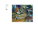 Alfonso Sicilia Sobrino. Pintor abstracto español. Licenciado en Bellas Artes en Madrid, beca