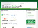 Alfred Jansen Resultancy BV | Relaties opdrachtgevers