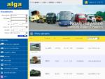 ALGA - sprzedaż i leasing samochody osobowe, samochody ciężarowe, ciągniki siodłowe, autobusy, n