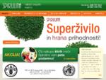 Zakaj uživati spirulino Ker je Spirulina pomemben vir beljakovin, saj jih vsebuje od 53 - 62 ,