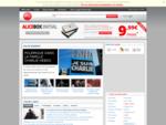 Abonnement Adsl Haut débit avec Alice France. Page d'accueil du portail.