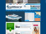 Alilauro - aliscafi, collegamenti marittimi - Golfo di Napoli, Ischia, Isole Eolie