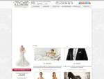 Robes de mariée - A L'INFINI Mariage - Costumes, tenues de cortège, cocktails et cérémonies.