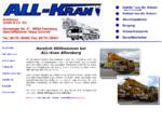 ALL-KRAN Autokrane GmbH Co KG, Allersberg