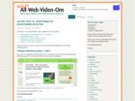 All-Web-Viden-om blogger om hjemmesider, synlighed og onlinemarkedsføring m. m