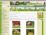 Garten aus Holz Ihr Spezialist für Spielgeräte, Gartenhäuser und Gartendekoration