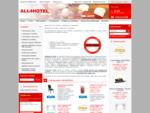 Vybavenie pre hotely, reštaurácie a kaviarne - ALL4HOTEL