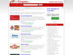 Canadian Online Coupons, Canada Shop Store Coupons - AllCoupons. ca