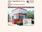 Home - Allen Needham Co. Ltd. Barristers, Solicitors and Notary Public Morrinsville