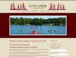 Allen039;s Landing Cottages on Clear Lake
