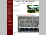 Classic Car Restorations - For ALL your FORD needs.