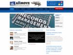 Secure Document Data Management| ALLMOVE | Winnipeg, Manitoba