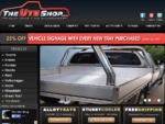 The UTE Shop | Aluminium Trays | | Ute