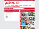 All Right tooted parimatelt tootemärkidelt mootorratturitele, mootorkelkude, mopeedide ja ATV-de o