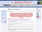 All Things Shooting at allthingsshooting. com. au