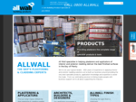AllWall supplies building, plastering cladding products to professionals, tradesmen, and homeo
