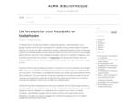 Alma Bibliotheque » Nieuws- en persberichten