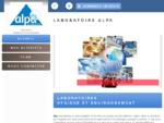 Laboratoires de contrôle sanitaire, environnemental - Laboratoire Alpa à Montmélian