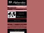 Index - Alpharrabio - Livraria Alpharrabio - Edições Alpharrabio - Alpharrabio Sebo
