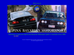 Welcome to Alpina Bavarian Motorsport Australia
