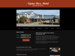 Alpine Rose Motel - Motel Accommodation, Greymouth, New Zealand