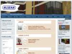 ALSEKA | medinės lauko ir vidaus durys, mediniai ir plastikiniai langai