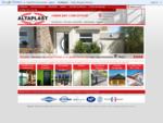 Altaplast, fabricant et concepteur de fenêtres, portes, vérandas, portails, clôtures, volets P