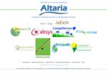 Altaria un groupement d'entreprise à taille humaine dans le développement durable