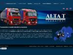 Tuzemská a medzinárodná preprava - ALTA T, a. s. , Turzovka