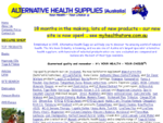 Alternative Health Supplies, your one-stop wellness shop, offering premium quality herbal, vitami