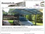 Alucarports | Carports aus Aluminium & Alu | Carports Metall Preise | Design Carport Aluminium |