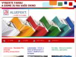 . Práškové lakovanie | Farebné plastové okná | Parapety . Aluefekt - Titulka OBSAH - Spišská Nov
