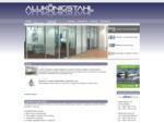 Podjetje AluKönigStahl je specializirano za gradbene sisteme iz aluminija, jekla in umetnih mas.