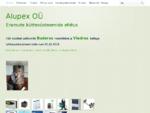 Alupex OÜ | Küttesüsteemid ja Kanalisatsioonisüsteemid