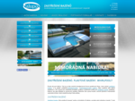 Zastřešení bazénů, různé systémy zastřešení bazénu - Alupo Blansko
