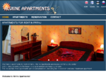 Apartments for rent in the center of Pärnu. All apartments are furnished, with kitchen, cosy and