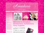 Amadore - Christening Bomboniere