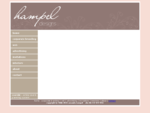 hampel designs - graphic design, event management, amanda hampel