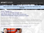 Esileht - Amari Metals