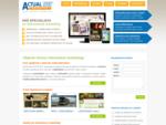 Internetovà¡ agentura ACTUAL NET marketing poskytuje odborné služby zaměÅené na digità¡lnà mar