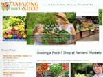 Hosting a Picnic Shop at Farmers' Markets! Amazing Way to Shop |