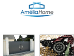 Amelia Home - Page d'accueil