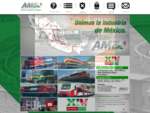 La Asociación Mexicana de Ferrocarriles (AMF) está conformada por empresas que brindan servicio de t