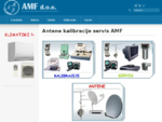 Prodaja in montaža antenske in sat opreme, kontrola in kalibracija inštrumentov, servis strojev za