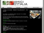 Amici d' Italia, Italiaans restaurant, catering, buffet, kookles, afhaal, proeverij in oss