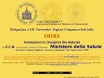 Coordinamento A. Mi. University Sud Italia Pranoterapia Riflessologia Bio Naturopatia