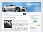 Straipsniai apie automobilius, jų servisą, auto paslaugas | Amobil. lt - Autoservisai, autolaužy