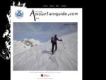 Anne Bauvois, Guide de Haute Montagne à Grenoble. Stages freeride, explorations ski de randonné...