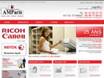 Location photocopieur CANON et XEROX, vente imprimante RICOH, entretien fax OKI et PANASONIC à Par